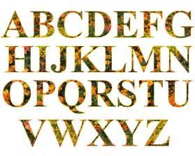 free illustration letters alphabet filled set free