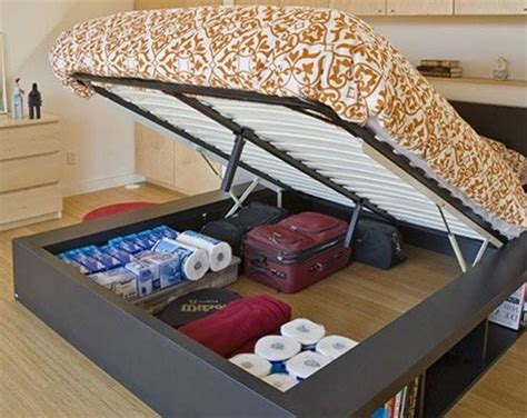 closet under bed add function to your tiny rooms