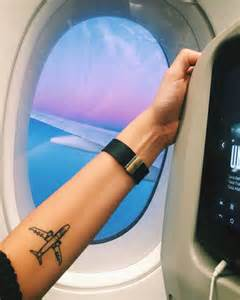 25 best ideas about plane tattoo on pinterest airplane