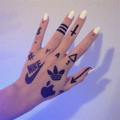 tattoo with pen and hairspray sharpie tattoo tumblr google search my polyvore finds