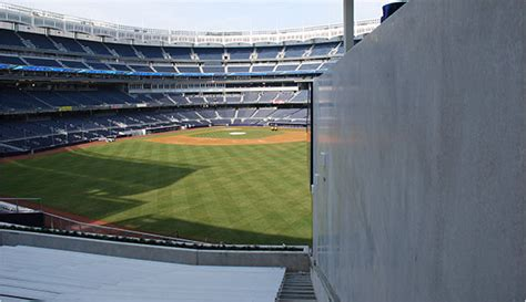 yankee stadium section 201 new stadiums it s going going hey did you see where