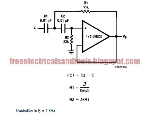 resistor and capacitor layout free schematic diagram 10 01 2009 11 01 2009