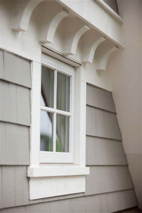 Window Corbels Adding Trim And Molding To Exterior Windows Studio