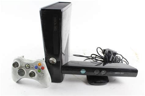 xbox 360 console with kinect xbox 360 s console with kinect and controller property room
