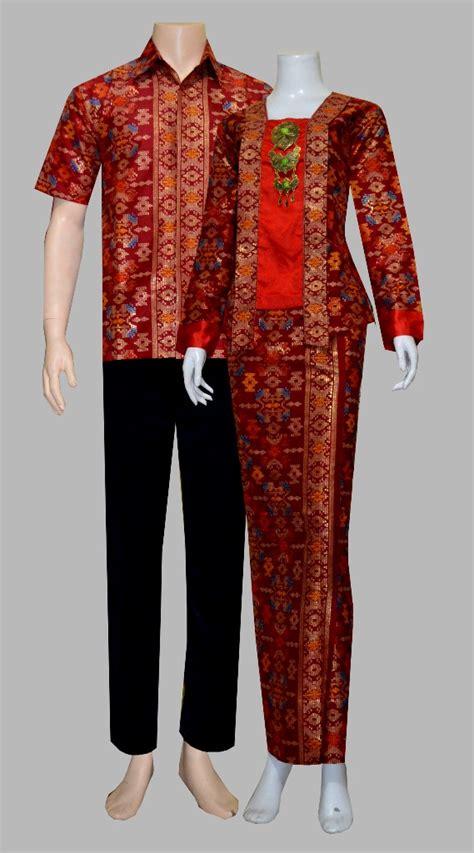 Sarimbit Rok Dan Blus Pola Baju Pasangan Baju Muslim Wanita jual baju batik sarimbit rok dan blus pasangan