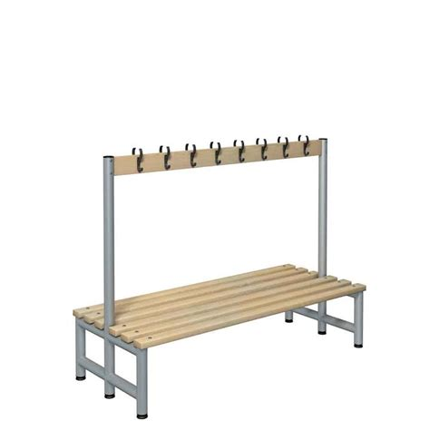 cloakroom bench seating cloakroom equipment and changing room bench seating 3d