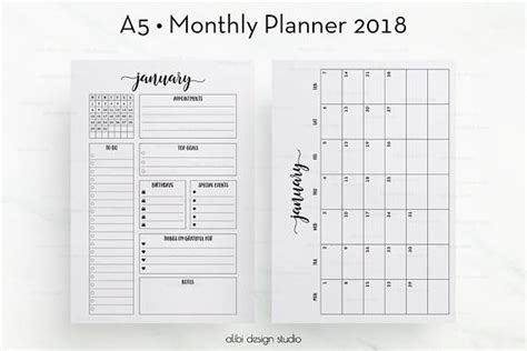 2018 vegan calendar organiser and journal notebook with inspirational quotes to do lists with vegan design cover vegan gifts volume 2 books 2018 monthly planner a5 planner inserts month at a glance