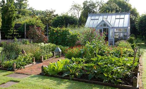 Kitchen With Garden by How To Plan A Kitchen Garden Period Living