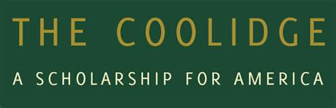 Coolidge Scholarship Letter Of Recommendation Home Page The Coolidge A Scholarship For America