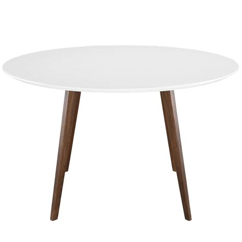 Walnut Wood Dining Table Metro White Walnut Wood Dining Table Modern Furniture Brickell Collection