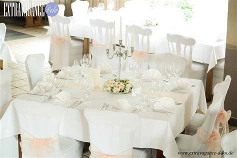 Dekoration Tisch Hochzeit by Dekoration Mieten Oder Kaufen Extravagance Deko
