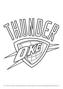 oklahoma city thunder coloring pages printable oklahoma