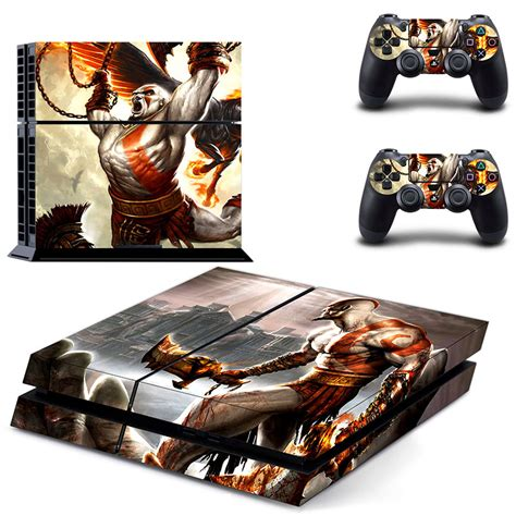 Ps4 Sticker God Of War by Vinyl Decal Skin Sticker Cover Of God Of War For Sony Ps4