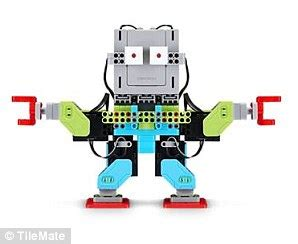 the ubtech jimu robots builderã s guide how to create and make them come to books ultimate gadget gifts this year daily mail