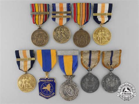 nine new york state decorations medals awards