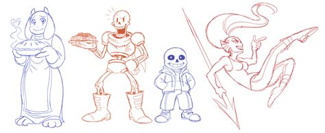 undertale sketchbook undertale sketches by sonicrocksmysocks on deviantart