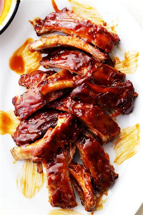 best bbq ribs barbecue ribs recipe diethood
