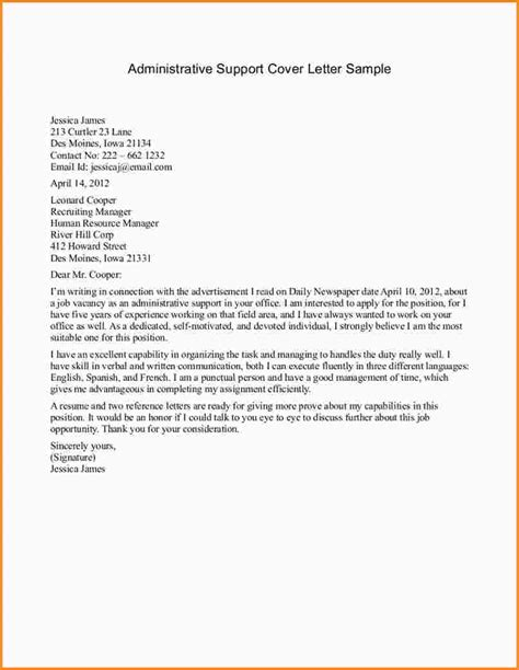 it support cover letter 5 letter of support exle mac resume template
