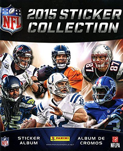 Nfl Football Sticker Book 2015 panini nfl football sticker album book includes 7