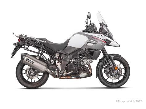 Suzuki Motorrad Händler Werden by Akrapovic F 252 R Suzuki V Strom 1000 Abs