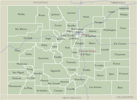 county zip code maps of colorado