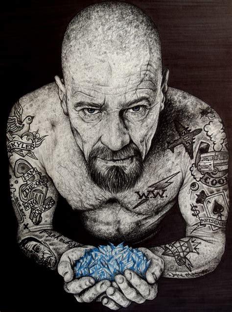 heisenberg tattoo poster the heizenberg effect