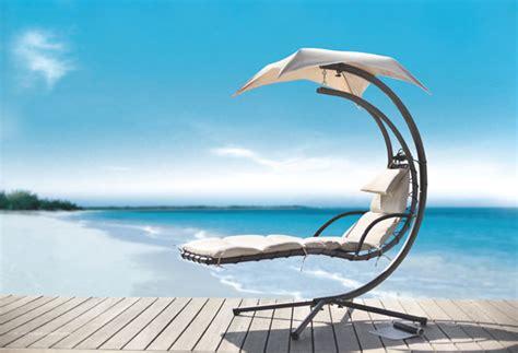 dream chair swinging chaise lounge lounge in a hammock dream beach chair hgtv design blog