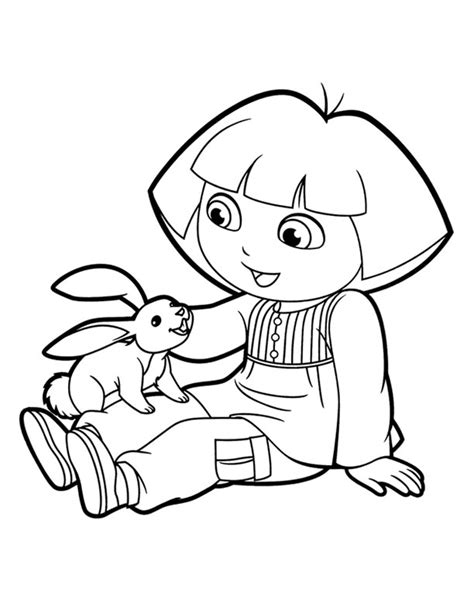 easter coloring pages dora dora coloring lots of dora coloring pages and printables