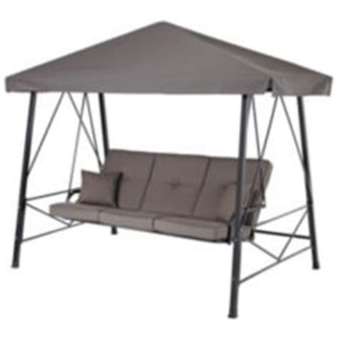 canadian tire patio swing deluxe swing 3 seat canadian tire