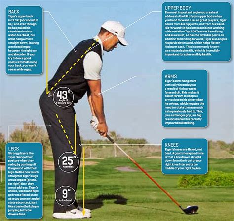 proper swing plane for driver golf swing blog tiger woods golf stance proper for your