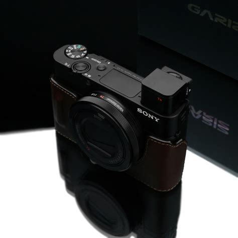 Gariz Half Sony Hg Rx1br Brown gariz leather half sony rx100iii rx100iv rx100v hg rx100m3br brown ebay