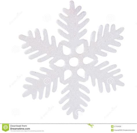 white snowflake isolated stock photo image 27104030