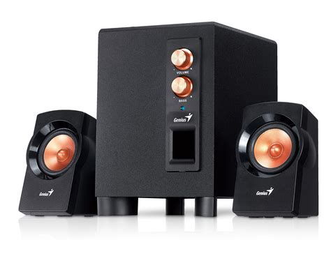 Speaker Genius inspan announces availability of sw 2 1 360 powerful speakers from genius syed manzoor s