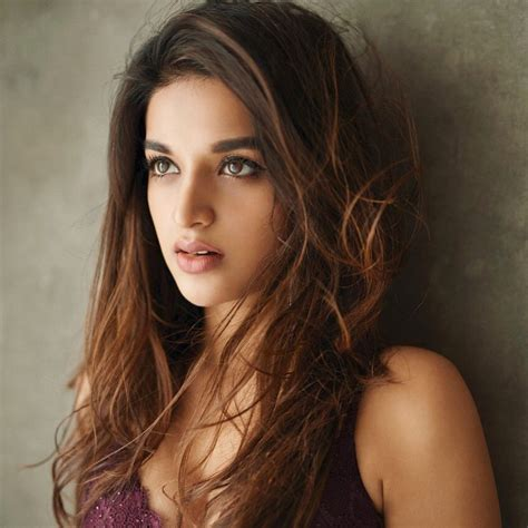 heroine new photoshoot nidhhi agerwal new latest hd photos savyasachi mr majnu