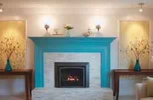 painting brick fireplace color ideas photos 11