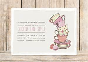 13 best tea invitation inspiration templates images