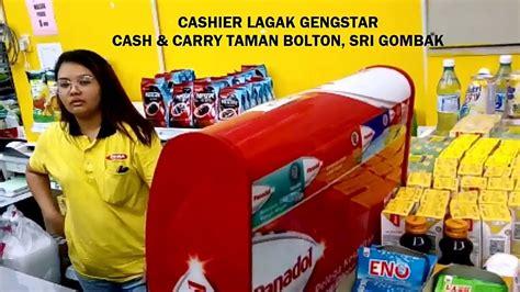 viral cashier cari gaduh  customer  sri gombak