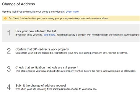 Change Of Address Lookup How To Protect Your Seo Rankings When Migrating To A New Domain