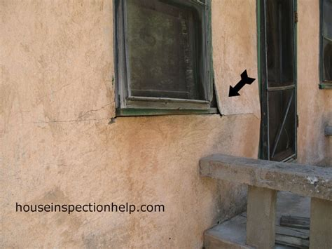 Stucco House With Window Problem