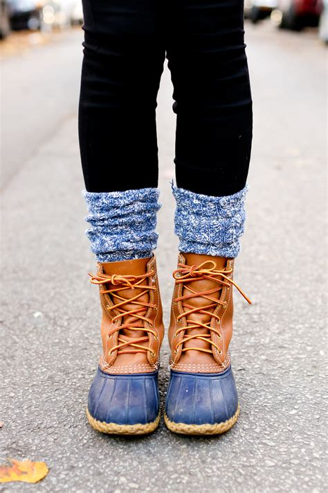 bean boots staying stylish this winter