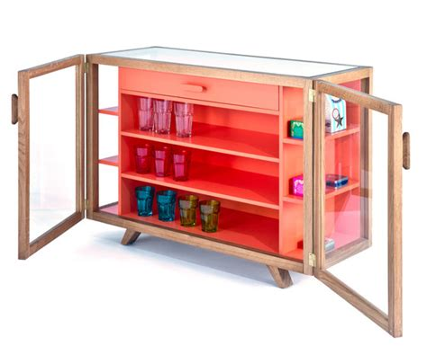 vitrina tall cabinet by hierve case furniture vitrina small sideboard display cabinets from case