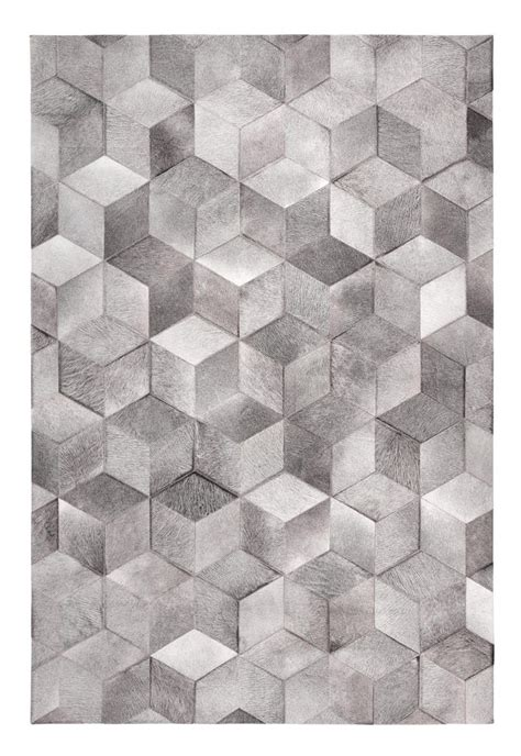cowhide pattern rug patchwork cowhide rug cubic by limited edition design