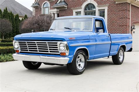 ford f100 for sale blue 1967 ford f100 for sale mcg marketplace