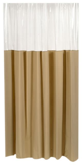 Vinyl Bathroom Window Curtains by Carnation Home Fashions Window Vinyl Shower Curtain Linen