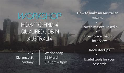 How To Find In Australia Workshop How To Find Your In Australia Australiance