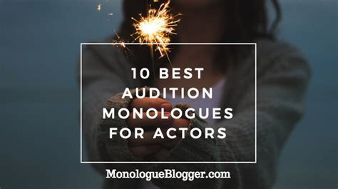 best monologues 10 best monologues for actors monologue