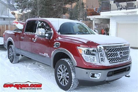 2016 nissan titan xd fuel economy testing road