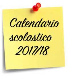 Calendario Scolastico 2017 18 Il Calendario Scolastico 2017 2018 Istituto Comprensivo