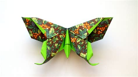 Lafosse Origami - how to make an origami butterfly michael g lafosse