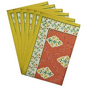 indian cotton placemats for the dining room multicolor indian cotton placemats for the dining room green yellow